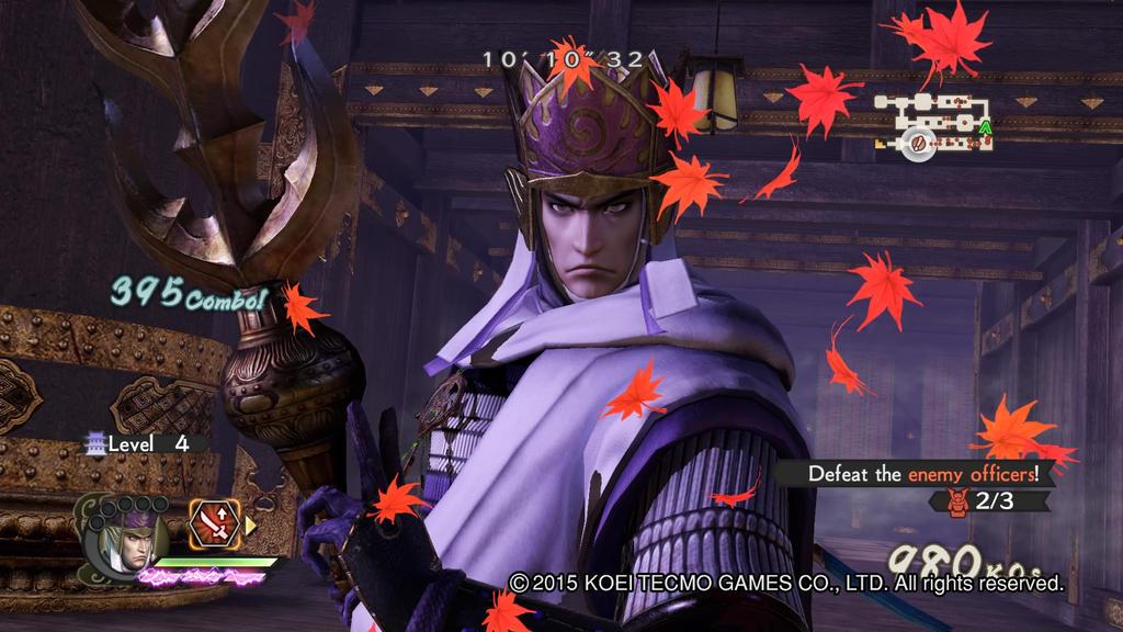 Kenshin Uesugi Gameplay 8  Samurai Warriors 4-2 by Luipunker91
