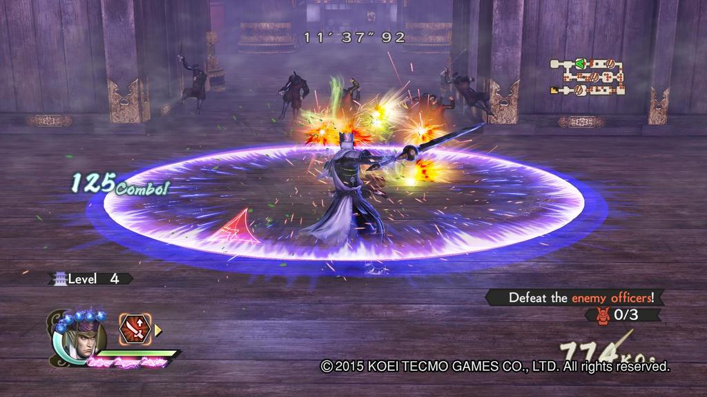 Kenshin Uesugi Gameplay 10  Samurai Warriors 4-2 by Luipunker91