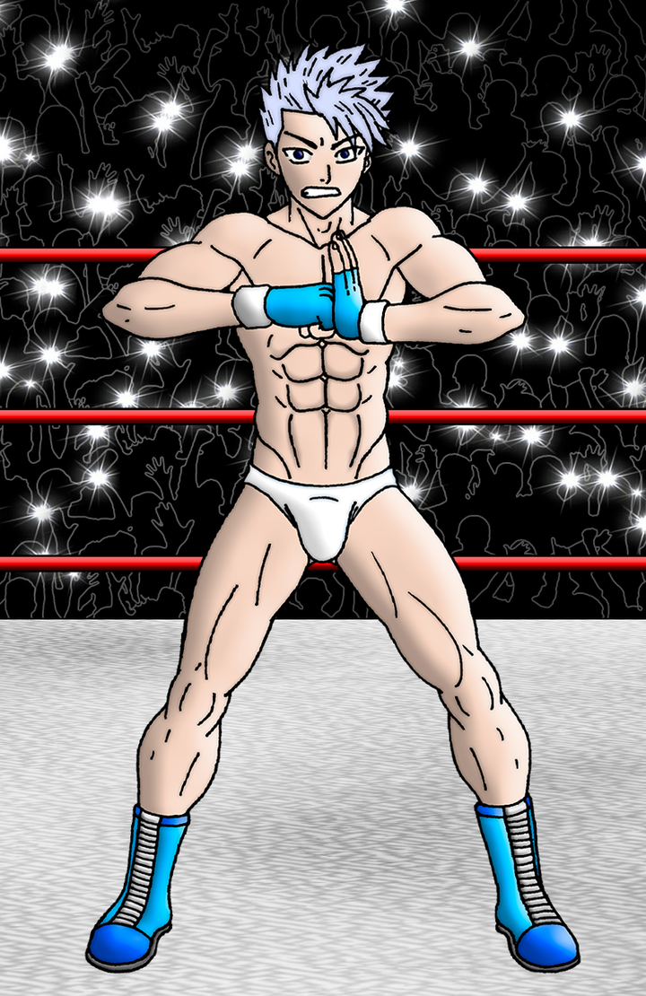 Lyon ready to kick Grays ass by Luipunker91