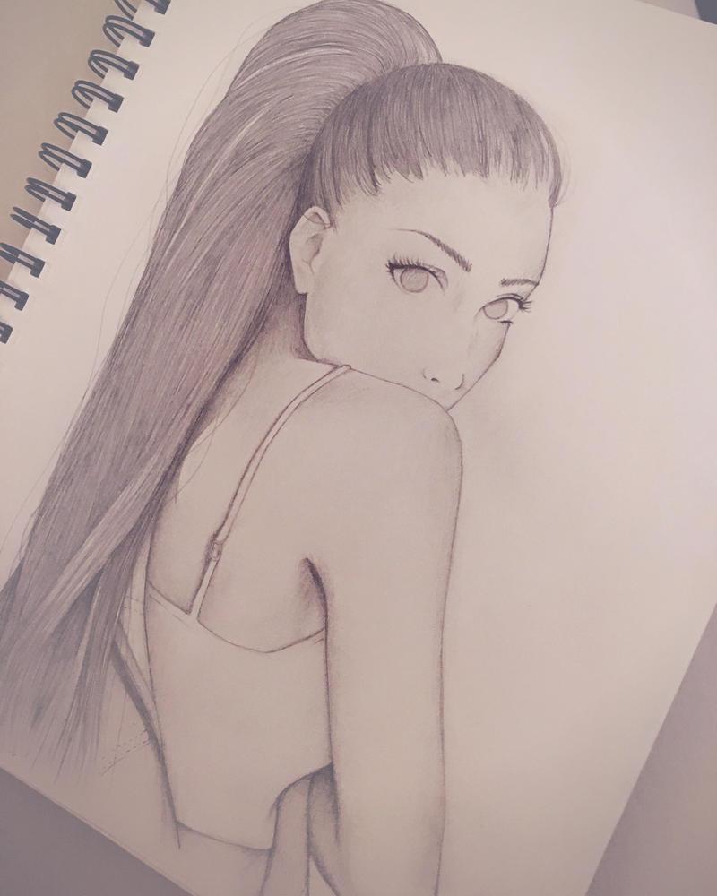 Ariana Grande  by MinouJ