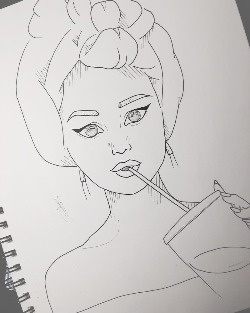 Selena Gomez by MinouJ