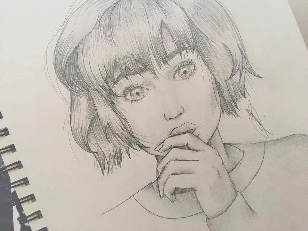 Random portrait  by MinouJ
