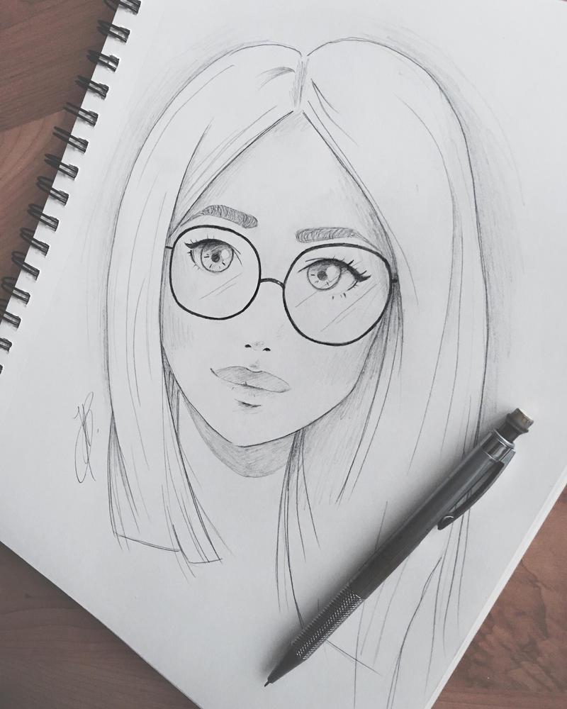 Glasses  by MinouJ