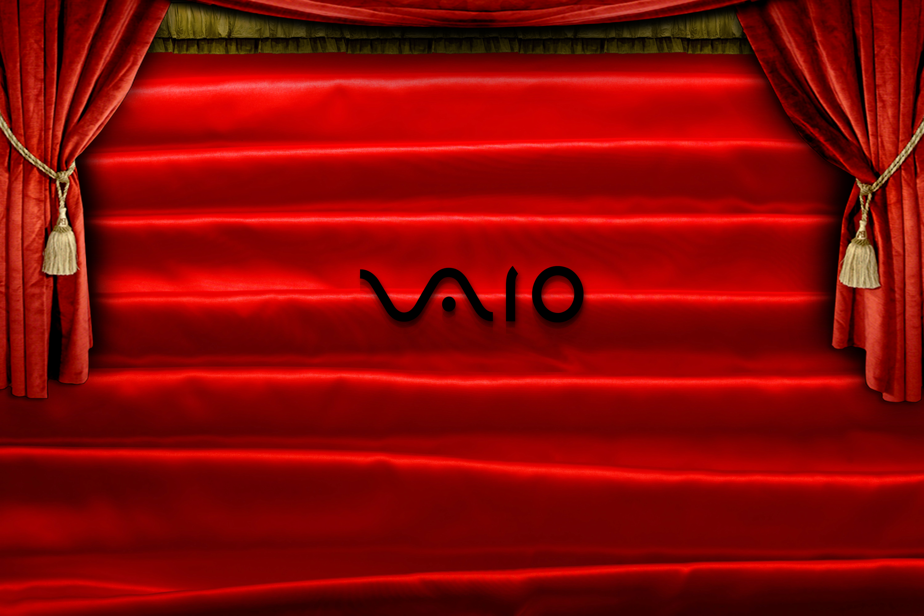 vaio red wallpaper by - photo #9