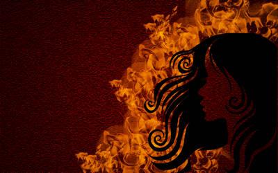 BURNING BEAUTY by jeshans