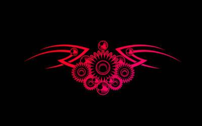 Tribal Tattoo Wallpaper by jeshans