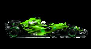 FERRARI F2008 Green