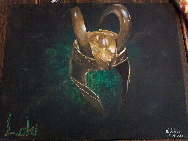 Loki's Helm by Sethrine