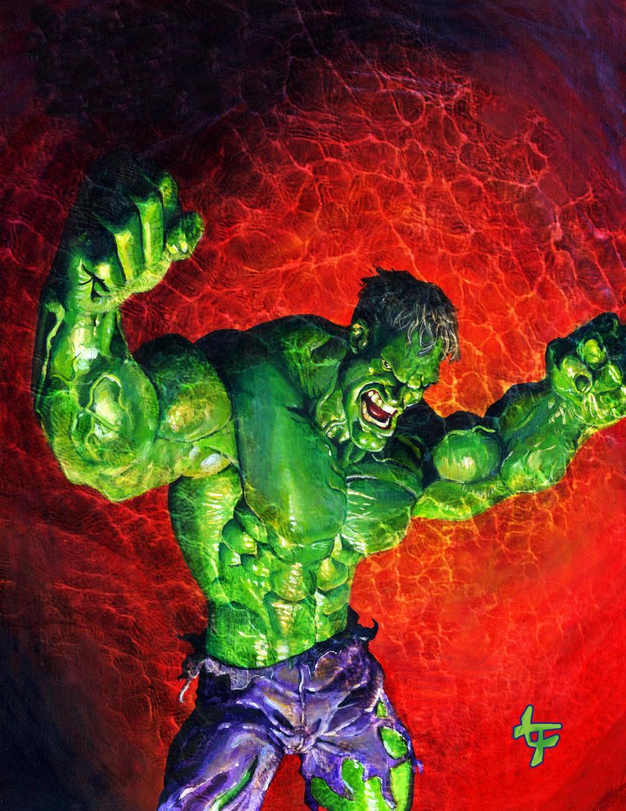 Green Rage by leilehua74