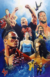 Wrestlemania 2000 by leilehua74