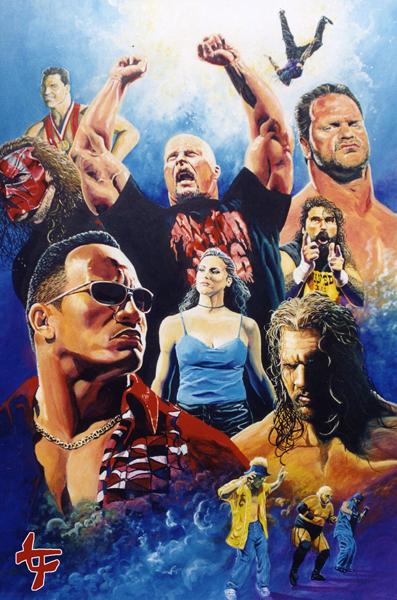 wrestlemania 2000 by leilehua74 on deviantart