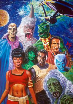 Not the Crew of the Starship Enterprise