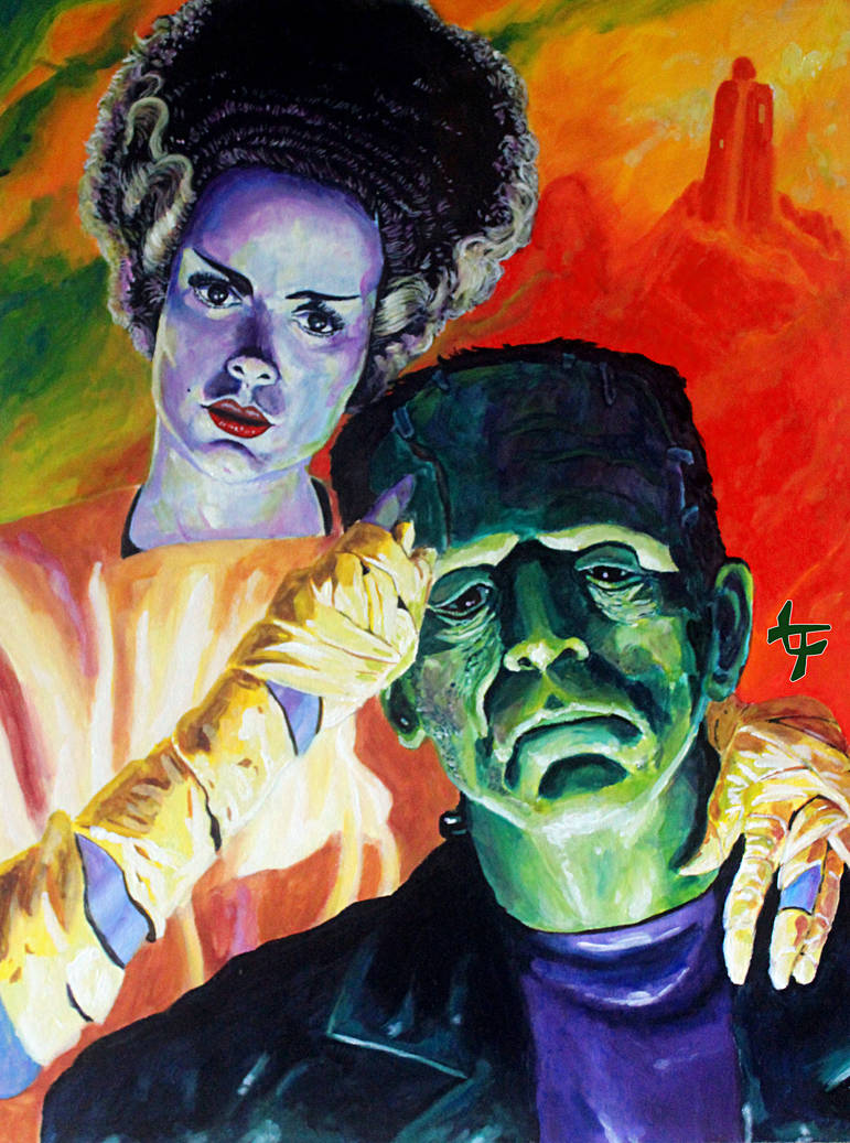 Frankenstein's Fairy Tale Ending by leilehua74