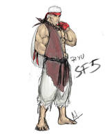old ryu concept by molee