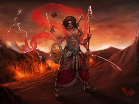 Skanda-The God Of War