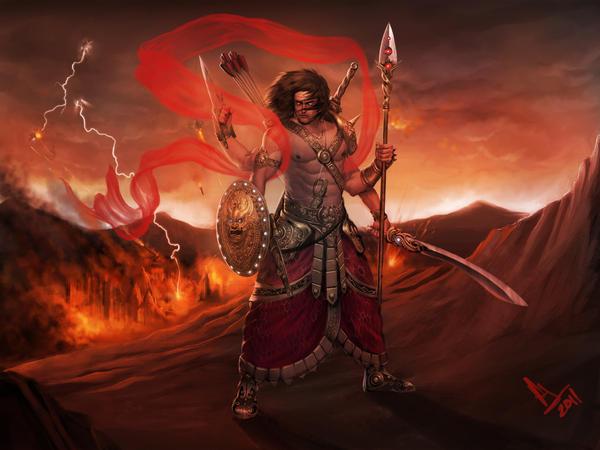 Skanda-The God Of War by molee