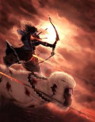 Rama Rides by molee