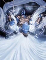 Varuna-God of Cosmic Order by molee