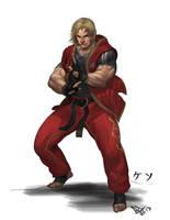 Ken Masters by molee