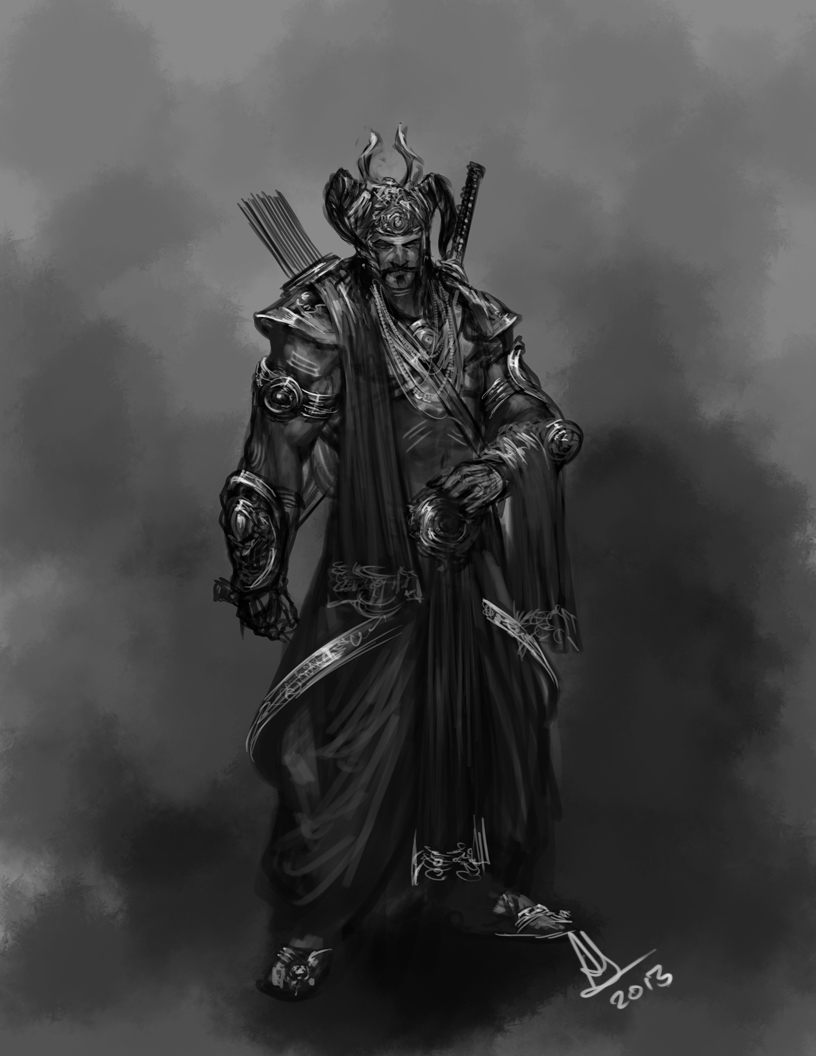 Ravana rough concept by molee