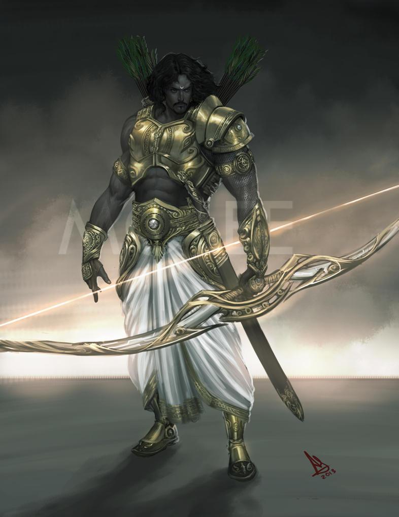 Arjuna concept by molee