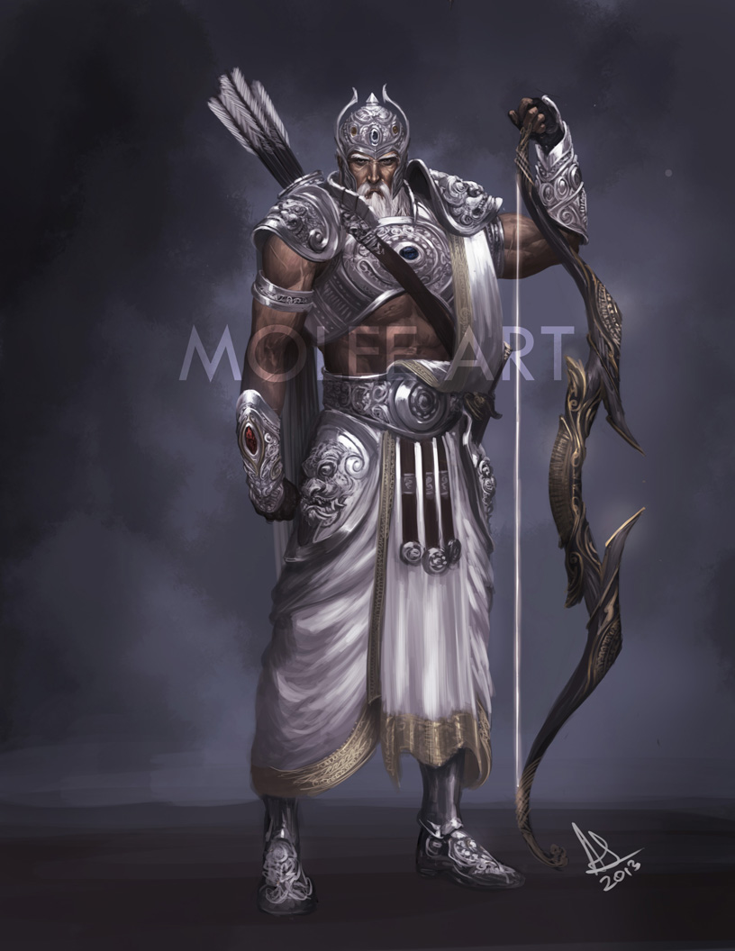 BHISHMA by molee on DeviantArt