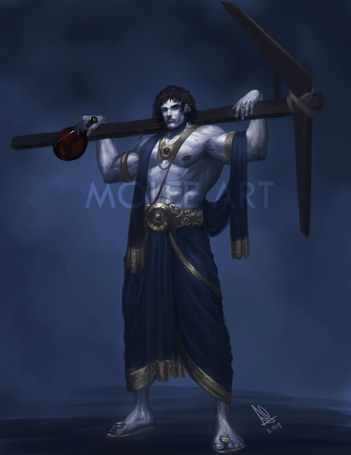 Balarama by molee on DeviantArt