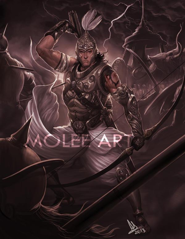 Satyaki by molee