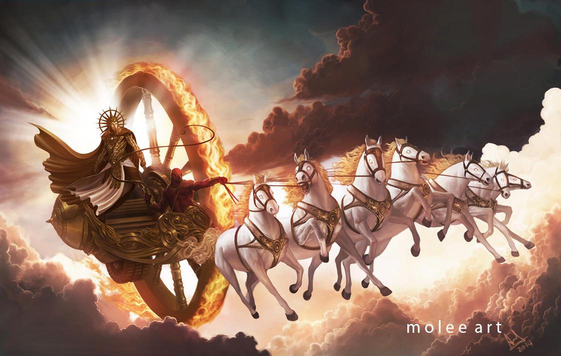 Surya - God of Sun by molee