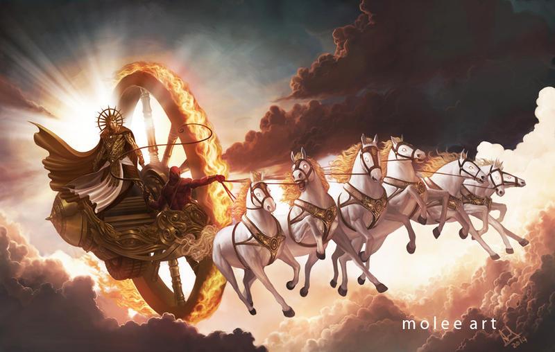 Surya - God of Sun by molee on DeviantArt
