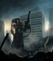 Cyborg Kshatriya by molee
