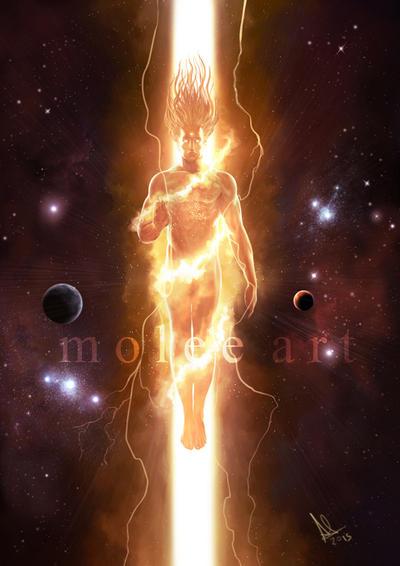Skambha - The Cosmic Pillar by molee