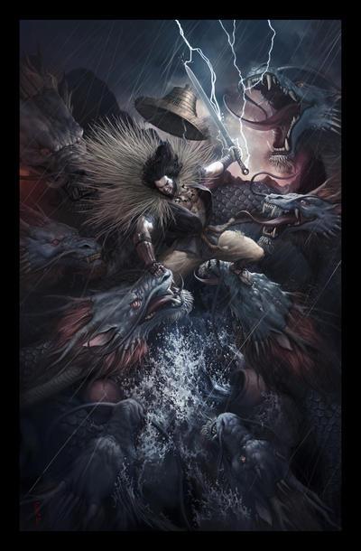 Susanoo vs Orochi