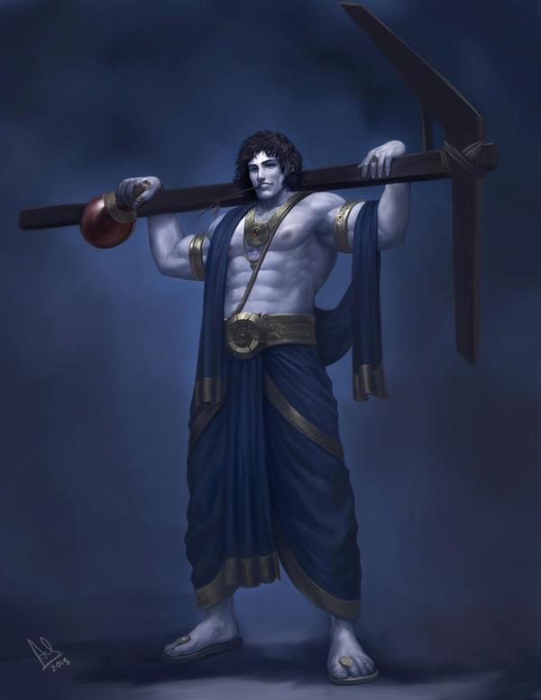 Balarama by molee