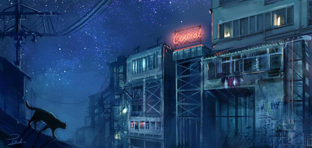 City nights by Powl96