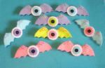 Bat Wings Eyeballs Pastel Goth Fairy Kei