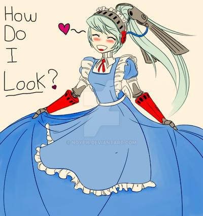 Labrys in dress by noypi6