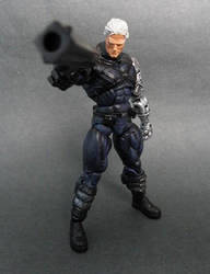Marvel Legends Cable custom by LuXuSik