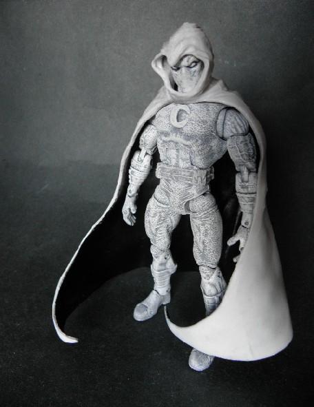 ML Moon Knight custom by LuXuSik