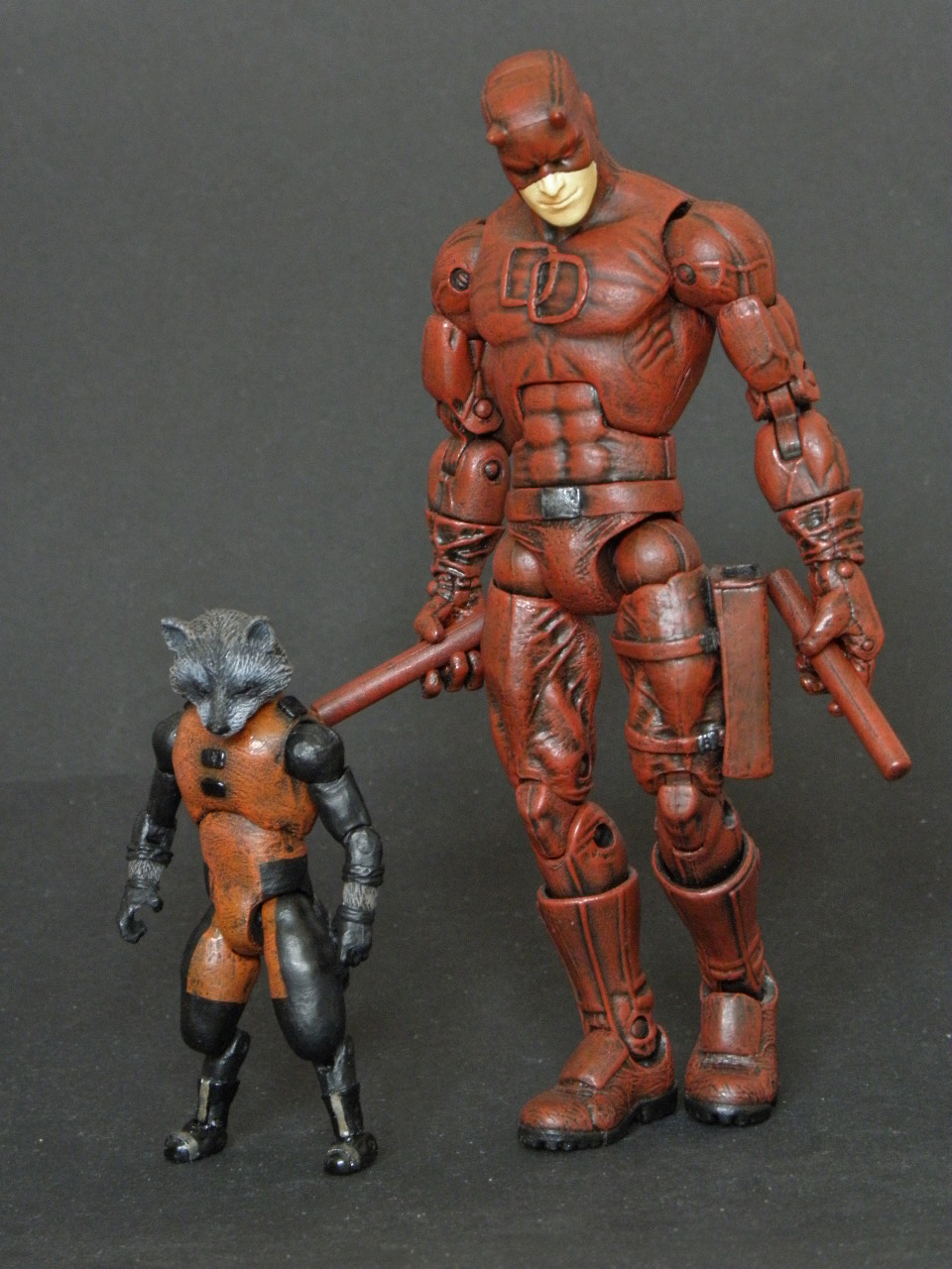 Star Lord And Rocket Raccoon By Timothygreenii On Deviantart: Marvel Legends Rocket Raccoon Redesign Custom 2 By LuXuSik