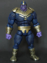 Marvel Legends Thanos custom by LuXuSik