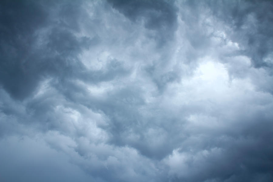 Stock Stormy Clouds 1 by minifoot