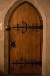 Stock Medieval Door