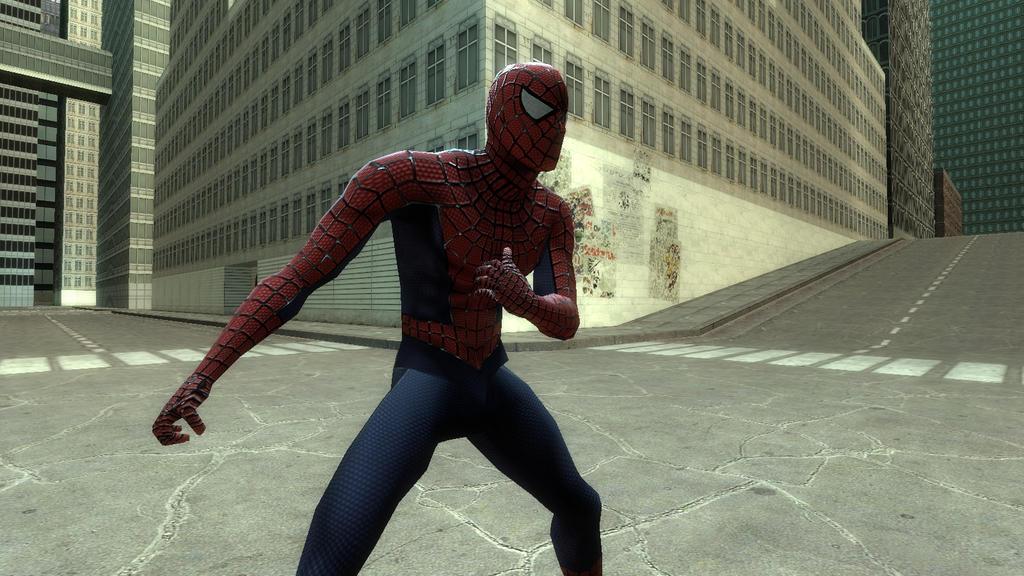gmod spiderman mod
