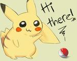 Pikachu says hi thar