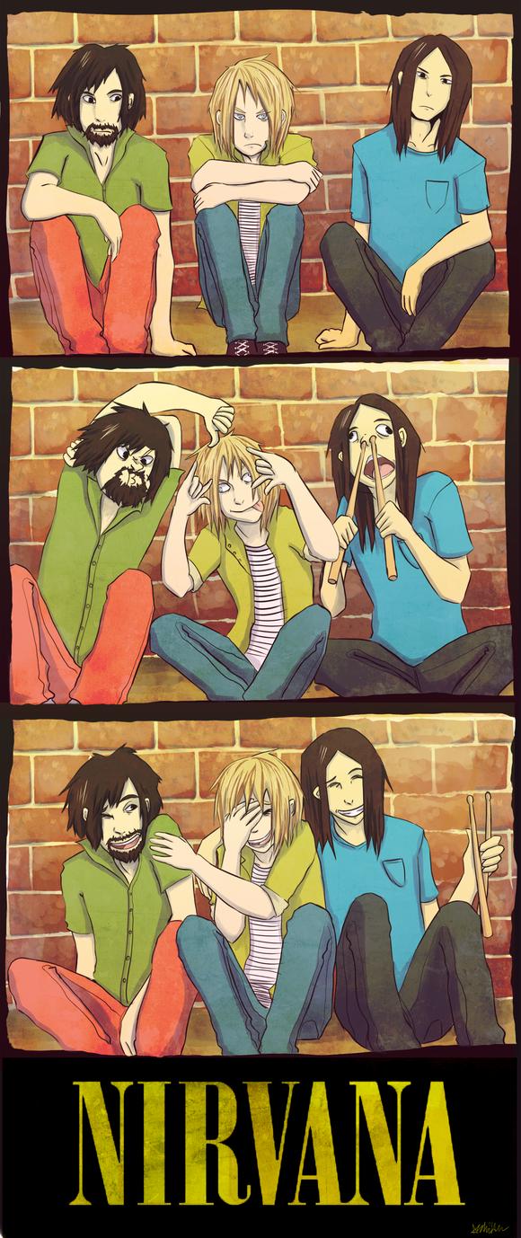 Nirvana Bros by The-EverLasting-Ash