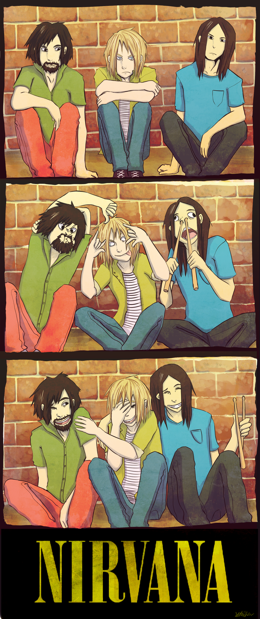 Nirvana Bros by The-EverLasting-Ash