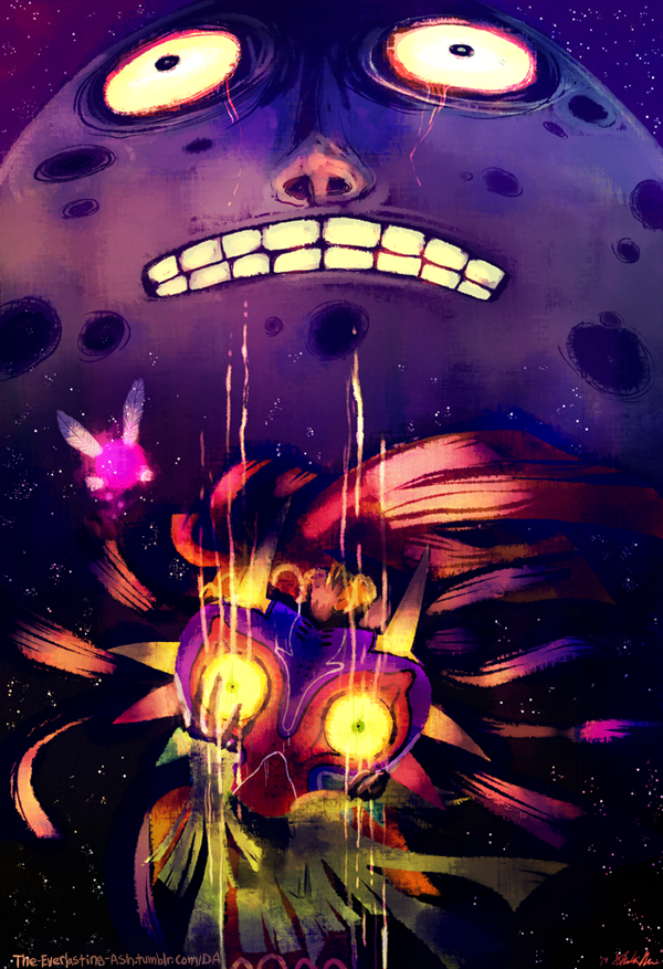 Majora's Mask by The-EverLasting-Ash