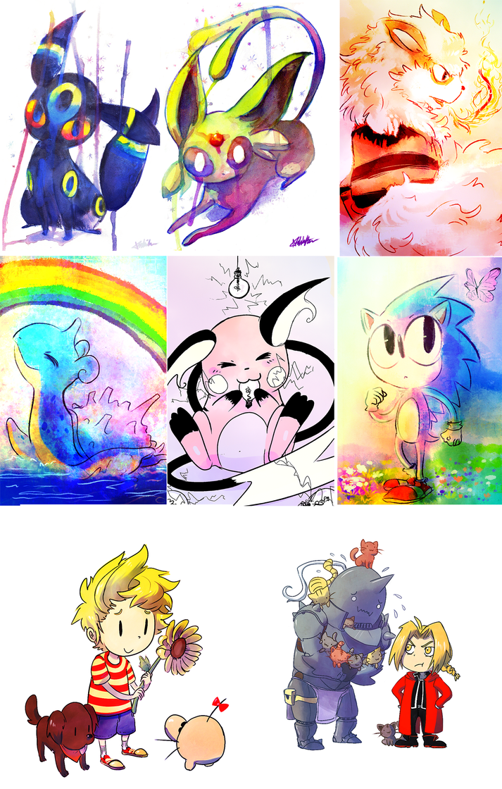 Some Mini Prints by The-EverLasting-Ash