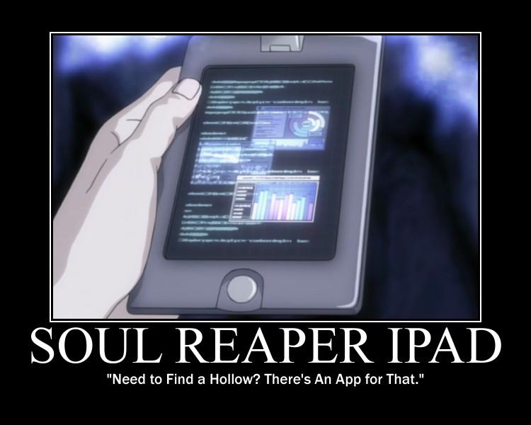 Soul Reaper iPad by Ry-Guy176